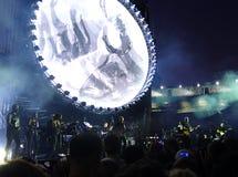 David Gilmour, живет на Помпеи 2016 Стоковая Фотография