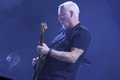 DAVID GILMOUR Fotografia de Stock Royalty Free