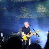 David Gilmour, leeft in Pompei 2016 Stock Afbeelding