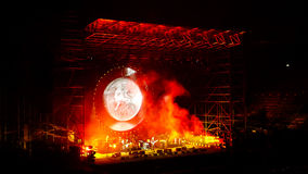 David Gilmour, Live in Verona 2016 Royalty Free Stock Photography