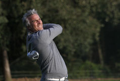 David Ginola Cannes-Mougins Seniors Masters Stock Photography