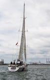 David Godwin yacht Högväxt skepputmanare Arkivfoto