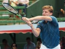 David Goffin of Belgium at Kooyong Tennis Club Royalty Free Stock Photography