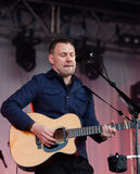 David Gray live at the Westport Festival Royalty Free Stock Image