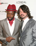 David Grohl, Wyclef Jean Stock Photo