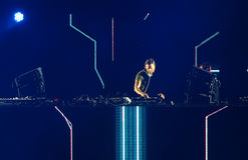 David Guetta du DJ français Photos libres de droits
