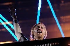 David Guetta executa FIB Imagens de Stock Royalty Free