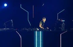 David Guetta van Frans DJ Royalty-vrije Stock Foto's
