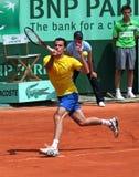 David Guez (FRA) at Roland Garros 2011 Royalty Free Stock Photos