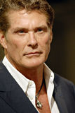 David Hasselhoff appearing. Stock Photos
