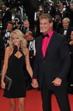 David Hasselhoff & Hayley Roberts Royalty Free Stock Photos