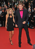 David Hasselhoff,Hayley Roberts Stock Photos