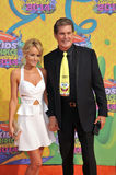 David Hasselhoff & Hayley Roberts Stock Photography