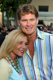 David Hasselhoff and Pamela Bach Royalty Free Stock Photos