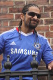 David Haye - Chelsea fan Royalty Free Stock Images