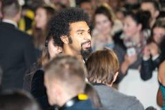 David Haye an den MOBO-Preisen, Leeds-Arena, Großbritannien Stockbild