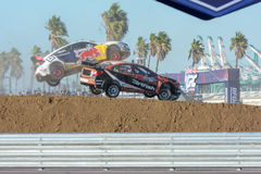 David Hiddins 75 and Joni Wiman 31, during the Red Bull Global R Royalty Free Stock Images
