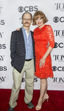 David Hyde Pierce och Kate Baldwin royaltyfri bild