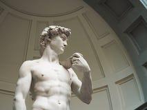 David jest Renesansowym rze?by arcydzie?em Michelangelo w Florence Italy zdjęcia stock