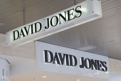 David Jones department store Australia Stock Photos