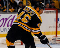 David Krejci, Boston Bruins Fotografie Stock