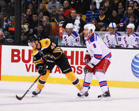 David Krejci, dianteiro, Boston Bruins Fotografia de Stock Royalty Free