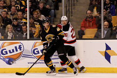 David Krejci and Patrik Elias Stock Images
