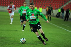 David Lafata - FK Jablonec Stock Photos
