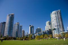 David Lam Park, Yaletown, BC Royalty Free Stock Image