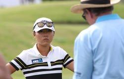 David Leadbetter y Lydia Ko en la inspiración de la ANECDOTARIO golf el torneo 2015 imagenes de archivo