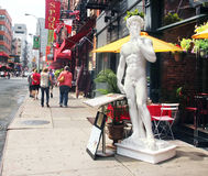 David in little italy. Stock Images
