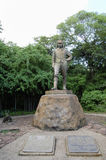 David Livingstone Statue - Victoria Falls - Zambia Royalty Free Stock Photos