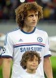 David Luiz av Chelsea Royaltyfri Foto