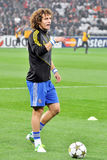 David Luiz with ball Stock Photography