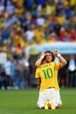 David Luiz Coupe du Monde 2014 Fotografia de Stock Royalty Free