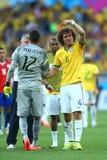 David Luiz Coupe du Monde 2014 Fotos de Stock