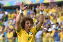 David Luiz  Coupe du Monde 2014 Royalty Free Stock Photos