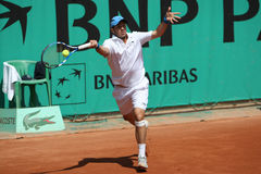 David MARRERO (EN PARTICULIER) chez Roland Garros 2010 Photos stock