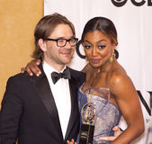 David Mars and Patina Miller Stock Photo