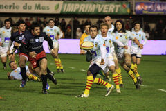 David Marty of USA Perpignan Stock Image