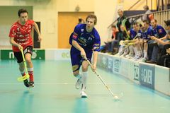 David Matus - floorball Stock Photography