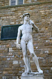 David from Michelangelo royalty free stock photos