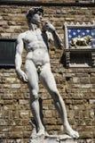 David of Michelangelo Stock Images