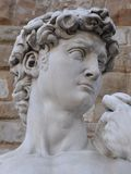 David of Michelangelo in Florence Stock Image
