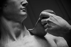 David by Michelangelo ,Florence-Italy Stock Photo