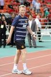 David Moyes head coach of Man Utd. Royalty Free Stock Photography