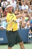 David Nalbandian - de Speler van het Tennis van Argentinië Stock Foto's