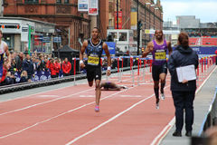 David Oliver on Ground The Great City Games 2015 Stock Photography