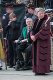 David Onley at Jim Flaherty State Funeral in Toron Royalty Free Stock Photo