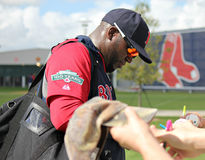 David Ortiz royalty free stock image